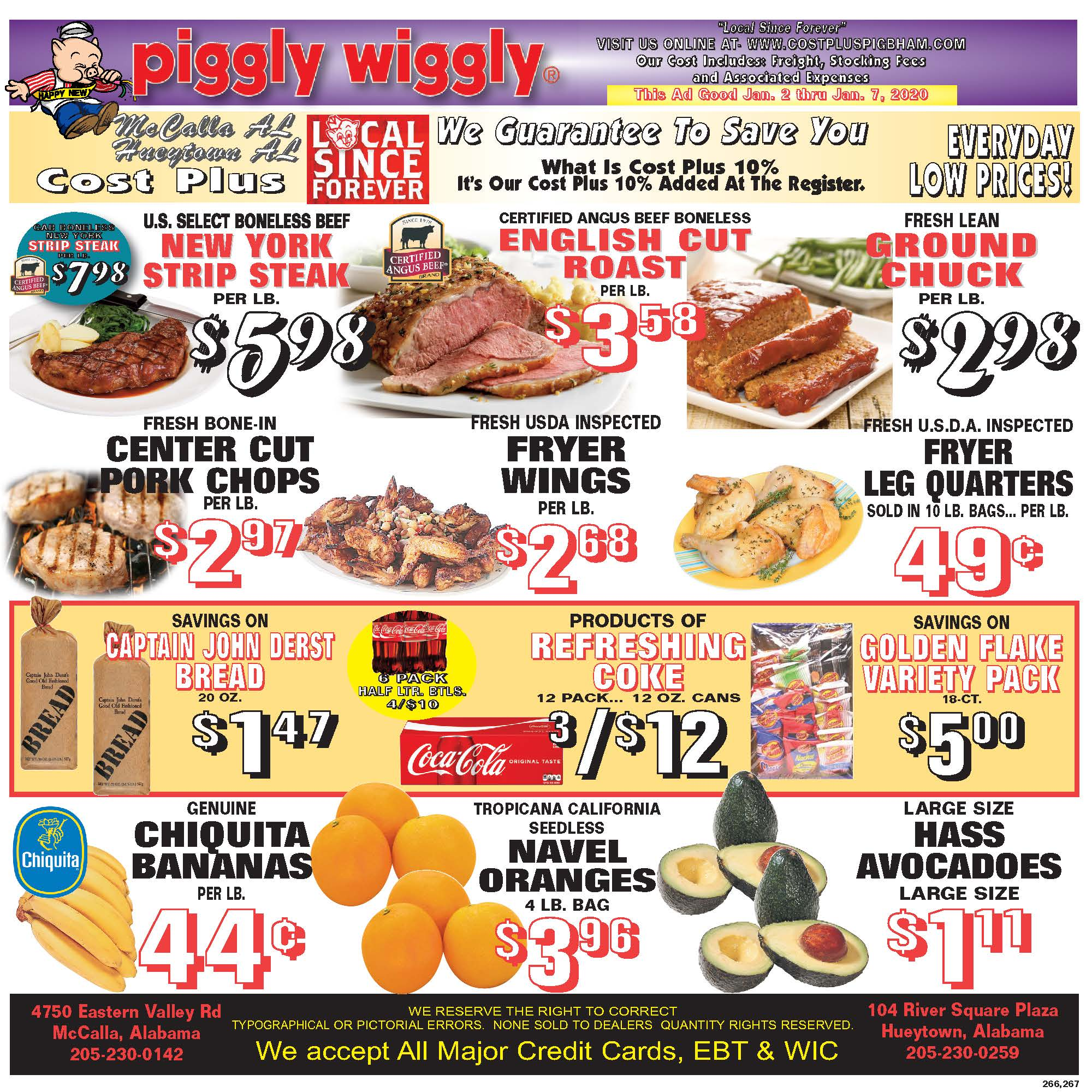 Weekly Ads - McCalla - Food For Less Piggly Wiggly Cost Plus